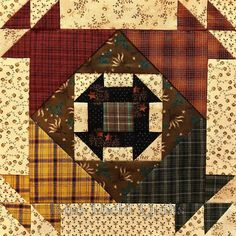 Kim Diehl Simple Whatnots Crackerjack Little Quilt Kit, Helping Hands Fabrics From Henry Glass For Top and Binding Featuring Yarn Dye Plaids Scrappy Quilts, Mini Quilts, Sampler Quilts, Quilt Block Patterns, Quilt Blocks, Quilting Projects, Quilting Designs, Churn Dash Quilt, Plaid Quilt