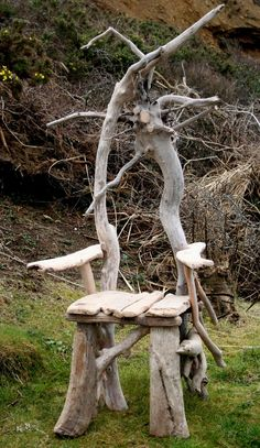 Driftwood Chair, Feature character Chair, Drift wood Furniture, Garden Chair, UK £485.00