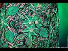 Вяжем вместе. Ирландское кружево. Вязание на спицах,вилке, линейке, крючком. - Knit together. - YouTube