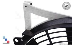 Machined Aluminum Brackets Mount The Fan To The Radiator. Bmw Accessories, Bmw Performance, Bmw Cars, Radiators, Carbon Fiber, Fan, Radiant Heaters, Hand Fan, Fans