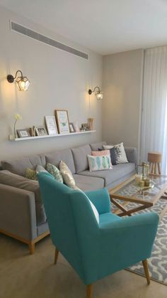 21 brilliant solution small apartment living room decor ideas and remodel 4 Living Room Grey, Home Living Room, Apartment Living, Living Room Decor, Living Spaces, Small Living, Apartment Interior Design, Interior Design Living Room, Living Room Designs