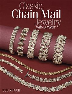 Book Review - Classic Chain Maille Chain Maille with oomph and class!