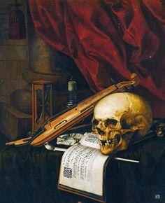 1000 images about vanitas art on pinterest vanitas skulls and still life - Vanite simon renard de saint andre ...
