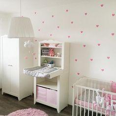 Babyzimmer  #babygirl #baby #babyzimmer #maibaby #maibaby2016 #ikea #hensvik #ssw33 #babyroom #inspiration #babiesofinstagram #heilbronn #instadaily #bebekodası #bebek #hamileanneler #hamileyim