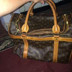 fee97a21661 Spotted while shopping on Poshmark  Authentic LV dog carrier!