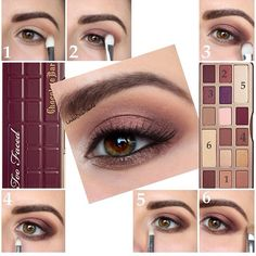 37 Trendy Makeup Tutorial Lippenstift Make Up - Makeup Tutorial Lipstick Chocolate Bar Makeup, Chocolate Bar Palette Looks, Chocolate Bar Too Faced, Chocolate Bars, Kiss Makeup, Love Makeup, Makeup Inspo, Makeup Tips, Quick Makeup