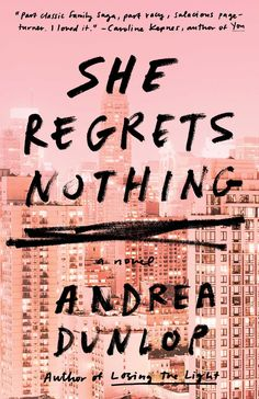 Good Books To Read: She Regrets Nothing by Andrea Dunlop Books To Read 2018, Best Books To Read, Cool Books, New Books, Book Club Books, Book Lists, Must Read Novels, Books For Teens, Book Cover Design