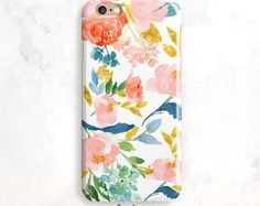 Floral iPhone 7 Case, Flowers iPhone 5S Case, iPhone SE Case, iPhone 6 Plus, iPhone 6S Case, Floral iPhone 6 Case, Flowers iPhone 5 Case