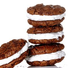 Mexican Chocolate Cookies with Marshmallow Frosting #BiteMeMore