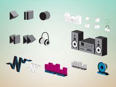 Audio Free vector