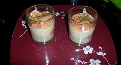 Recette - Verrines saumon fumé et mascarpone citronnée - Proposée par 750 grammes