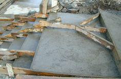 Ny side 1 Building Foundation, Firewood, Concrete, Crafts, Ideas, Woodburning, Manualidades, Handmade Crafts, Craft