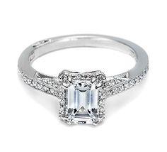Rectangle Wedding Ring