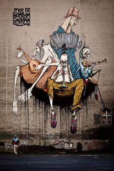 Polish mural art