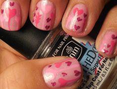 NOTD: Hearts Manicure