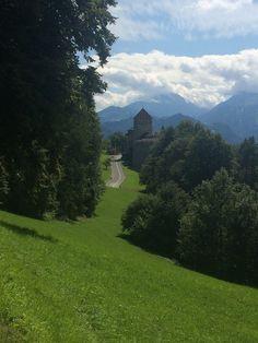 Vaduz Castle, Liechtenstein  from A Long Weekend in Zurich, Switzerland on StefanieGrace.com