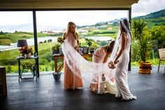 BRIDESMAIDS | A magical wedding celebrated on the outskirts of Getaria, in a walled medieval town with a long seafaring tradition.