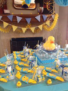 Rubber duck baby shower centerpieces fresh decoration rubber ducky shower d Deco Baby Shower, Baby Shower Supplies, Baby Shower Favors, Baby Shower Cakes, Baby Shower Themes, Shower Ideas, Baby Favors, Ducky Baby Showers, Rubber Ducky Baby Shower