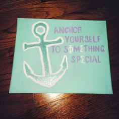 Anchor yourself to sΦΜething special :)