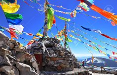 Important info on getting into the restricted travel regions of Tibet & Bhutan: what you have to have before you go, & what's allowed once you're there. Fall City, Prayer Flags, Bhutan, Tibet, Mount Everest, To Go, Asia, Fair Grounds, Stock Photos