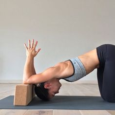 Build strength and flexibility for forearm-stand by practicing these exercises at home every day.