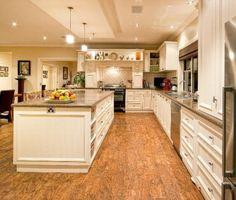 Hardwood Classic Open Plan Kitchen Design - Kitchen
