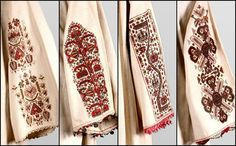 The embroidery on the sleeves of Serbian women from Kosovo and Metohija from the late nineteenth century. Polish Embroidery, Embroidery On Clothes, Folk Embroidery, Embroidery Patterns, Greek Traditional Dress, Theatre Costumes, Costume Patterns, Gold Work, Russian Fashion