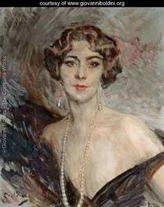 Portrait de la marquise Carla Vitelleschi - Giovanni Boldini - www.giovanniboldini.org