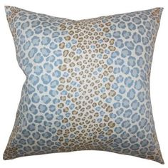 The Pillow Collection Mailys Animal Print Bedding Sham