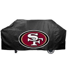 San Francisco 49ers Black Grill Cover