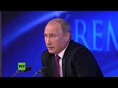 Putin contesta a la BBC sobre quién provoca a quién y qué país tiene una política más agresiva - YouTube