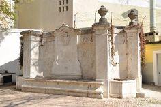 CIDADANIA LX: Imagens de Marca - Lisboa/Portugal - fontanário  do Largo Agostinho da Silva