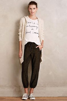 Spring Lake Joggers - anthropologie.com