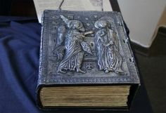 The Bible by Voskan Yerevantsi, a volume of unique value, was printed in 1666 in Amsterdam. This stunning sample of book art has for years been part of a private collection.  Matenadaran.  #Armenian