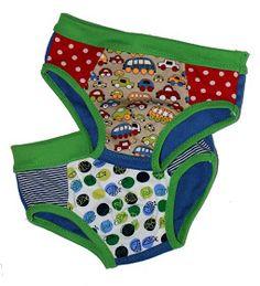 Unterhosen Schnitt für Jungs