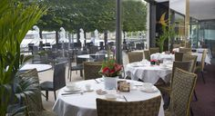 Royal China Canary Wharf and Outside Terrace