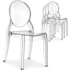 Les 7 meilleures images de Chaise transparente | chaise