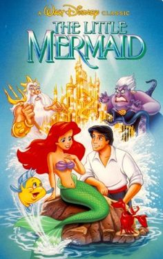 The Little Mermaid DVD!