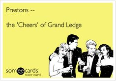 Prestons -- the 'Cheers' of Grand Ledge.