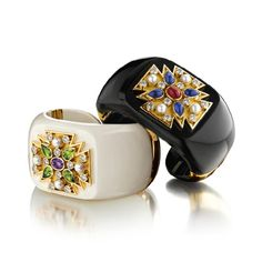 Two more spectacular Verdura cuffs