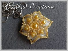 beaded flower free pattern Good for a ring?
