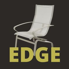 In search of an outdoor furniture collection that is designed to withstand the test of time and nature? Then be sure to check-out our Edge Sling Collection that is contemporary and durably designed. The collection also features a one-piece sling bucket shape and nylon foot glides to protect your floor surface. Featured product: Edge Sling Back Chat Chair Model #: M5212S Outdoor Furniture Inspiration, Extruded Aluminum, Outdoor Chairs, Outdoor Decor, Furniture Collection, Contemporary Design, Bucket, Surface, Flooring