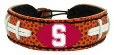 Stanford Cardinal Classic Football Bracelet