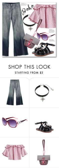 """""""Bohemian Style"""" by jecakns ❤ liked on Polyvore featuring ZAC Zac Posen and vintage"""
