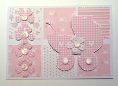 Card designed by Julie Hickey using Amelia papers and Baby template.