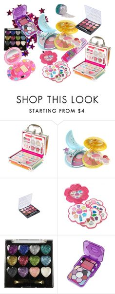"""90's/2000's makeup kits!!"" by amoeltacos ❤ liked on Polyvore featuring beauty, claire's, Pupa, Forever 21, Cameleon, 90s, 2000s and 90smakeup"