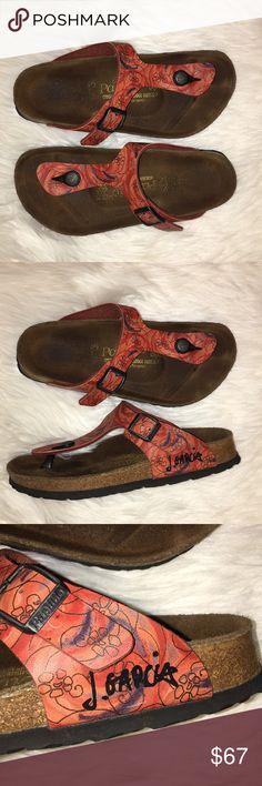 b35648e35900 Birkenstock Papillion Jerry Garcia Size 5 Birkenstock by Papillion Jerry  Garcia Size 5 Birkenstock Shoes Sandals