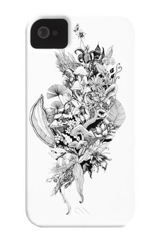 Flora Phone Case for iPhone 4/4s,5/5s/5c, iPod Touch, Galaxy S4