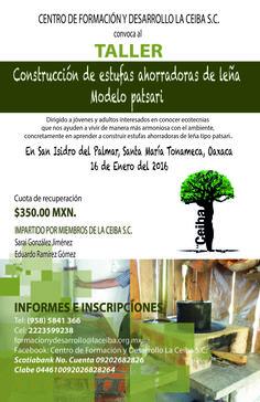 Taller de Estufas Ahorradoras de Leña - Modelo Patsari - La Ceiba Sociedad Civil