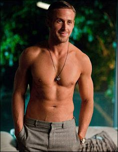 I am having a Ryan Gosling thing where all I do is think about how gorgeous he is.  I think I love him.